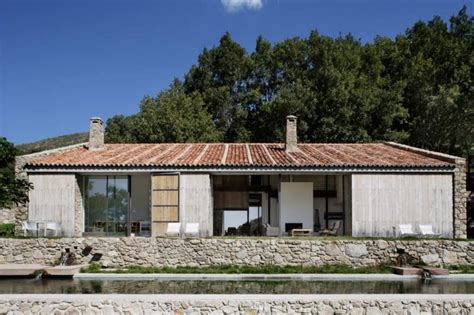 Award Winning Kitchen Designs 2013 by Spanish Stable Turned Contemporary Stone Home Modern