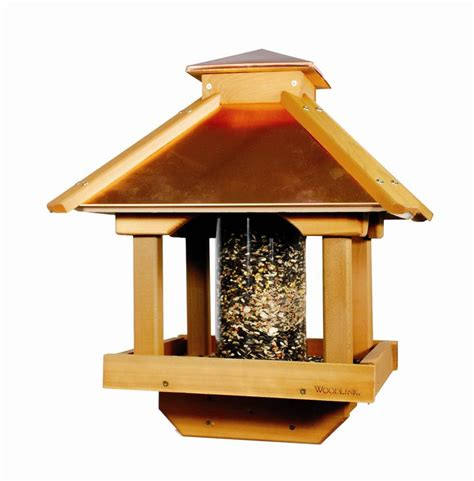 woodlink copper top bird feeder birdcage design ideas