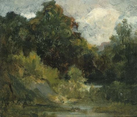 Landscape Artwork For Sale Edward Mitchell Bannister Landscape Trees Painting
