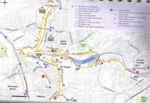 map of santa clarita california bike ride on the santa clarita cloverleaf bike path and