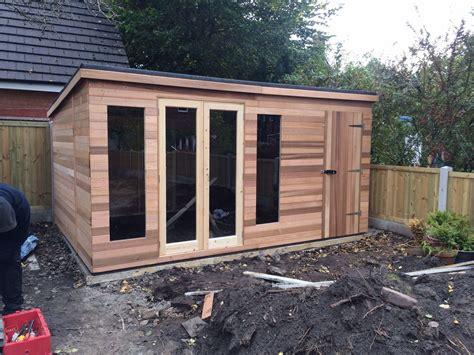 Cabin Designs westernred cedar wood garden sheds and summerhouses