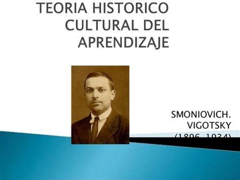 Modelo Curricular Historico Cultural Teoria Historico Cultural Aprendizaje