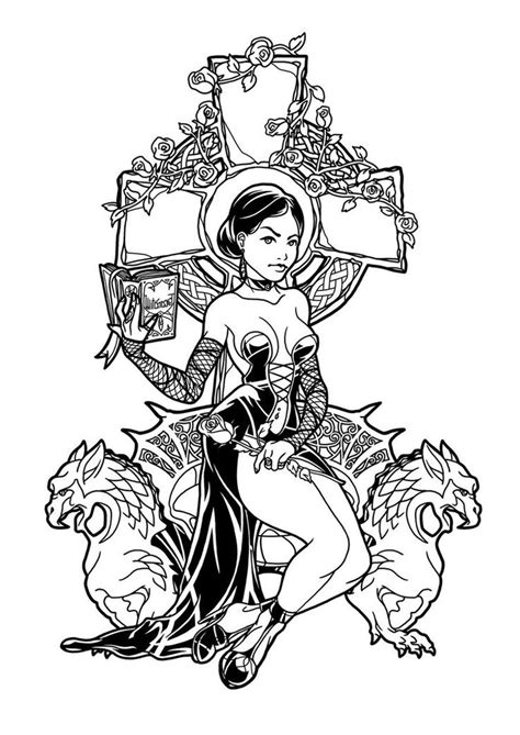 mean witch coloring page 677 best images about kleurplaten 4 on pinterest dovers