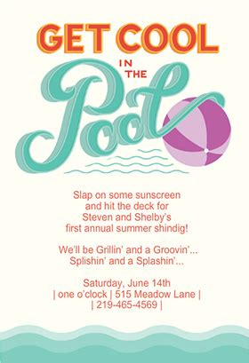 Come With Me Pool Invites by Pool Invitations Templates Free Theruntime