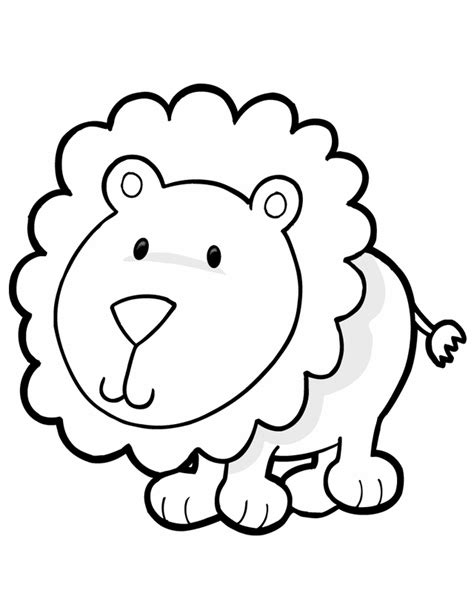 cute lion coloring page animal coloring pages for kids lion lions free