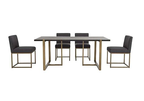 Vogue dining table and 4 upholstered chairs for 163 899 home amp garden furniture deals