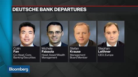 deutsche bank login careers cryan s deutsche bank shakeup cuts senior managers bloomberg