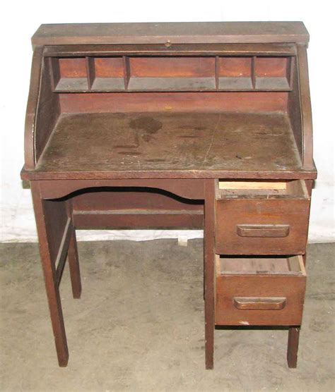 vintage small roll top desk small antique roll top desk small oak roll top desk