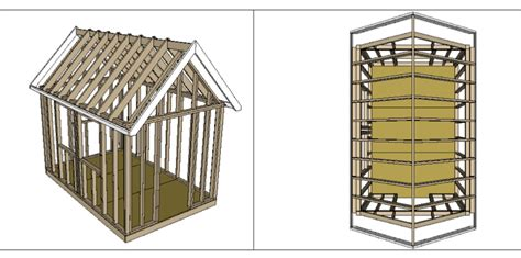 Small Shed Plans by Lucas Easy To Simple 8x12 Shed Plan