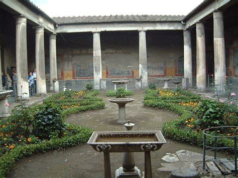 roman house domus with atrium and peristyle design rome pic id at design institute of san diego studyblue
