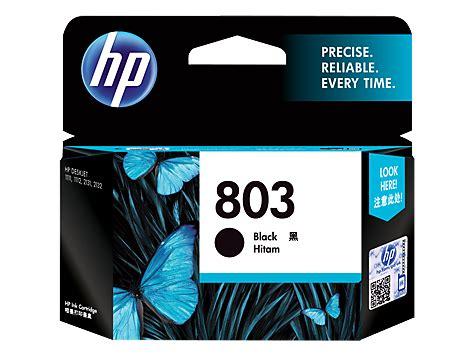 Cartridge Printer Hp 803 Black Original Ink F6v21aa Original Hp 803 Black Original Ink Cartridge F6v21aa Hp 174 India