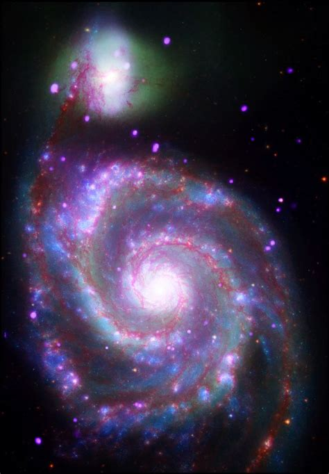 whirlpool galaxy the whirlpool galaxy far out pinterest