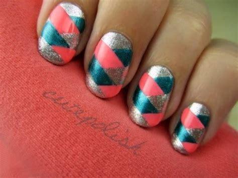 easy nail art by cutepolish braided nail art youtube