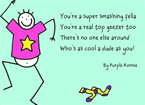 purple ronnie the 8 best images about poems by purple ronnie on