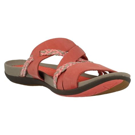 casual sandals c ladies clarks casual sandals tealite slide ebay