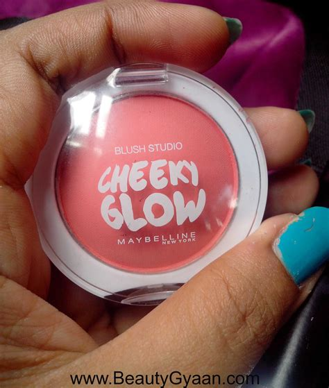 Maybelline Blush On maybelline cheeky glow blush review