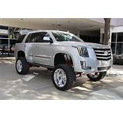 Lifted Cadillac Escalade From SEMA Show Gallery