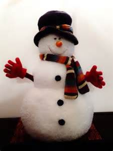 Snowman Decorations by Snowman Decorations Plush And Snowman On