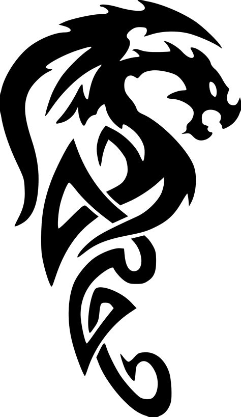 tattoo dragon tribal clipartist net 187 clip 187 clipartist net svg