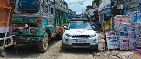 Driving Through Nepal On A Range Rover Evoque Autolife Nepal