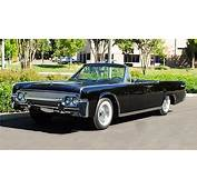 1962 LINCOLN CONTINENTAL CONVERTIBLE  Ramshead Automobile