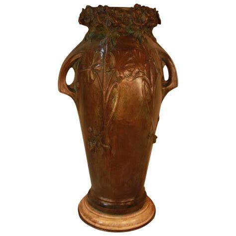 Nouveau Vases by Bronze Nouveau Vase By Saurs For Sale At 1stdibs