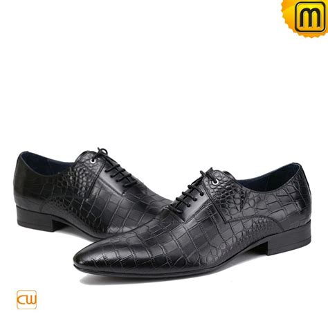 black lace up leather dress shoes for cw762016