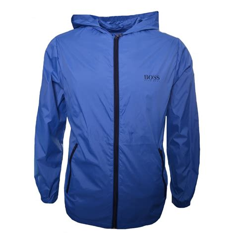 jacket design maker online hugo boss kids blue windbreaker jacket