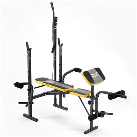 weight bench pad buy everlast starter weight bench with lat pulldown