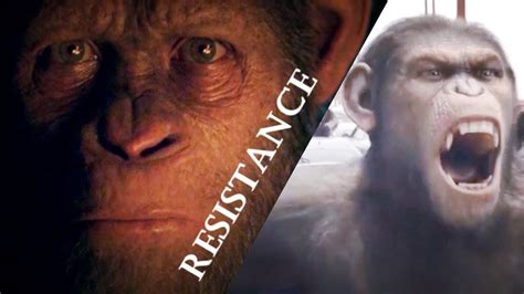 war for the planet of the apes resistance