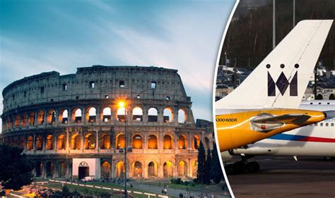 monarch offers cheap flights to rome from 163 29 one way travel news travel express co uk