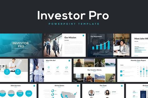 Investor Pro Powerpoint Template Presentation Templates Creative Market Investment Presentation Powerpoint Template
