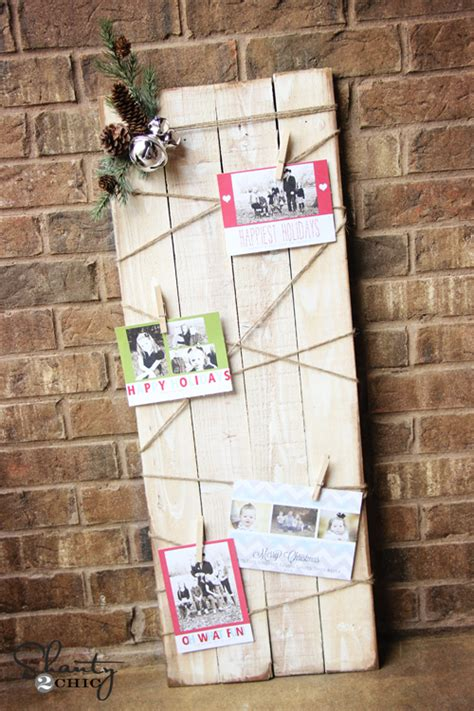 christmas card holder diy shanty 2 chic