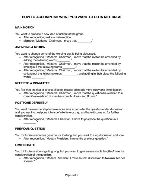 extra condensed cheat sheet for attending or running a