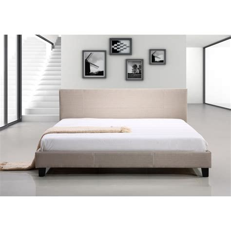 Palermo Bed Frame King Size Palermo Linen Bed Frame In Beige Buy King Size Bed Frame