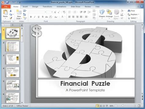Awesome Animated Money Backgrounds For Powerpoint Free Financial Powerpoint Templates