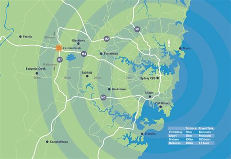 Western Sydney Mba Hospitality And Tourism by H65814 Greater Sydney Map Transport Logistics News