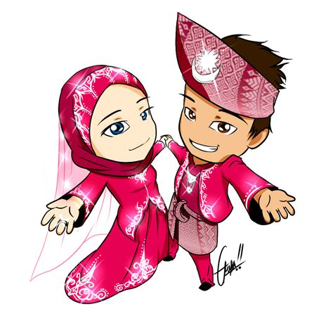 Wedding Kartun by Wedding Commission By Gusha Kun On Deviantart