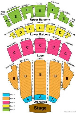 Pin beacon theater seating chart on pinterest