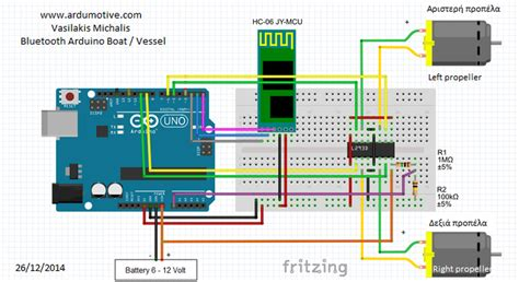 rc boat using arduino port vin arduino question about hc 06 in proteus
