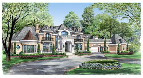neoclassical home plans