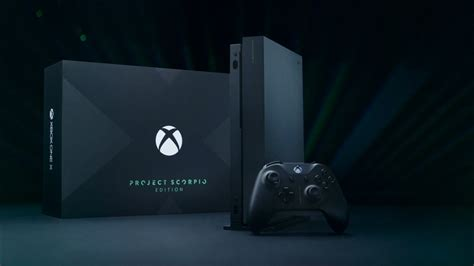 Introducing Xbox One X Project Scorpio Edition (Video Xbox
