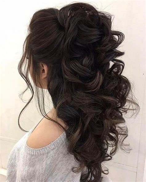 25 best long hairstyles for 2018 half ups upstyles plus fair wedding hairstyles for long hair half up on best 25