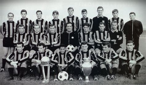 interno 18 san prisco football club internazionale 1965 1966