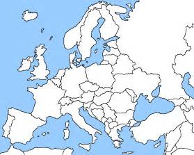 Europe Map Outline by Geography Blog Blank Map Of Europe Printable Outline Map