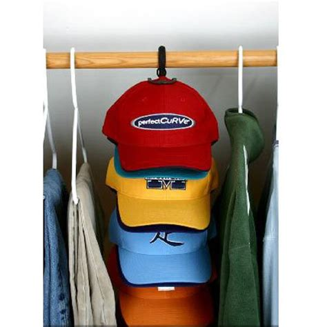 curve the door baseball cap organizer display