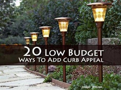 cheap ways to add curb appeal pin by dina acri on home improvements curb