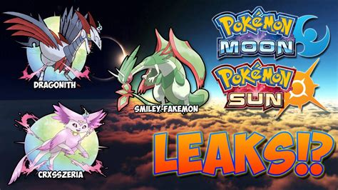 ultra sun and ultra moon leaks pokedex serebii events guide unofficial books leaks images images