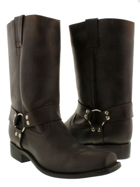 brown leather motorcycle boots 10 best s plain leather boots images on