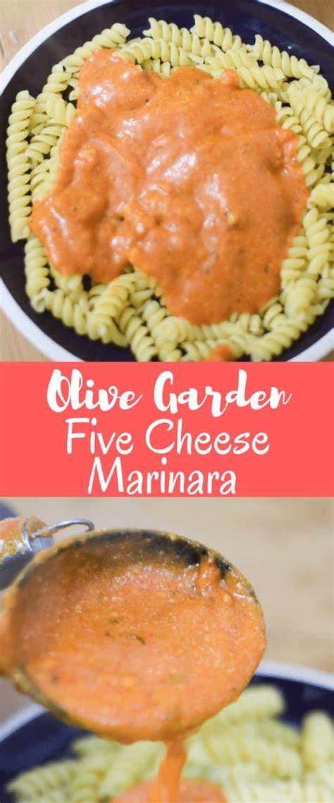 olive garden 5 for 5 olive garden five cheese marinara